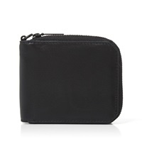 Alexander Wang Matte Leather Zip Wallet Black