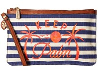 Tommy Bahama Boca Chica Beach Wristlet Keep Palm Wristlet Handbags