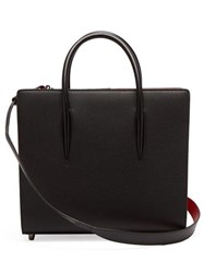 Christian Louboutin Paloma Medium Leather Tote Black