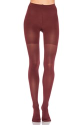 Spanx Luxe Leg Tights Wine