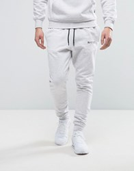 Nicce London Skinny Joggers In Grey Grey