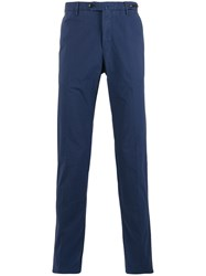 Pt01 Slim Fit Chino Trousers Blue