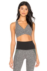 Beyond Yoga Spacedye Lift Your Spirits Bra Gray
