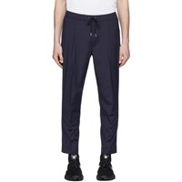 Moncler Navy Sport Trousers