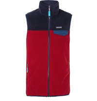Patagonia Synchilla Snap T Lightweight Fleece Gilet Red