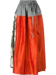 Vivienne Westwood Red Label Panelled Maxi Skirt Multicolour