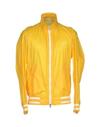 Harmontandblaine Coats And Jackets Jackets Men Yellow