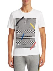 Madison Supply Graphic Printed Tee Gallery White