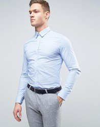 Selected Homme Superskinny Smart Shirt Light Blue