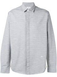 Soulland Fardon Gross Grain Shirt Grey