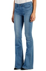Paige Women's Transcend Bell Canyon High Rise Flare Jeans