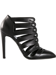 Altuzarra Cut Out Booties Black