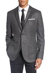 Ted Baker Men's London Trim Fit Diamond Texture Sport Coat