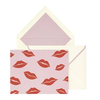 Kate Spade Lips Notecard Set