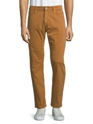Mavi Jeans Zach Straight Leg Twill Pants Almond