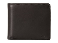 Tumi Chambers Global Center Flip Id Passcase Black Bill Fold Wallet