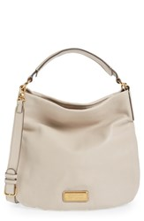 Marc By Marc Jacobs 'New Q Hillier' Hobo Beige