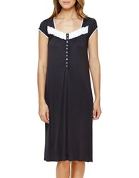 Eileen West Short Sleeve Waltz Nightgown