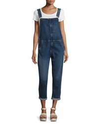 Current Elliott The Ranchhand Overalls Reese Indigo