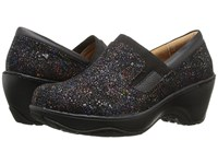 Nurse Mates Briley Black Rainbow Women's Clog Shoes Multi