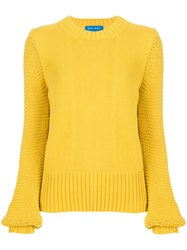 Mih Jeans Lova Jumper Yellow And Orange