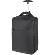 Lipault Plume Business Two Wheel Laptop Backpack 47Cm Anthracite Grey