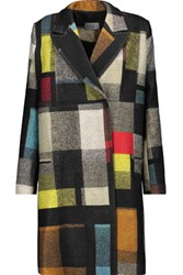 Preen By Thornton Bregazzi Mina Checked Wool Coat Multi