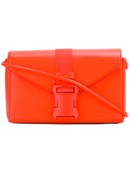 Christopher Kane Devine Shoulder Bag Yellow Orange
