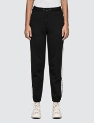 Msgm Ribbed Logo Track Pants