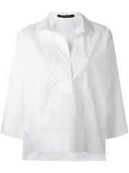 Sofie D'hoore Oversized Shirt White