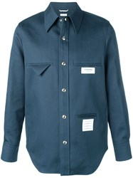 Thom Browne Inside Out Mackintosh Shirt Jacket 60