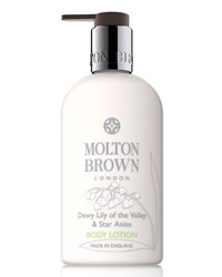 Dewy Lily Of The Valley And Star Anise Body Lotion 10 Oz. Molton Brown