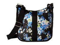 Le Sport Sac Weekender Hobo Flower Cluster Hobo Handbags Multi