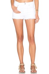 Agolde Jaden High Rise Cut Off Short Glaze Distressed