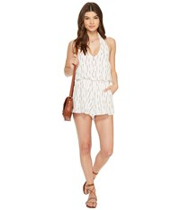 Bishop Young Halter Romper Red White Stripe Women's Jumpsuit And Rompers One Piece