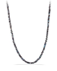 Spinel Beads Necklace With Skull Station David Yurman