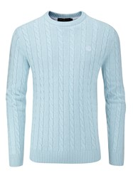 Henri Lloyd Men's Kramer Regular Crew Neck Knit Jumper Spearmint