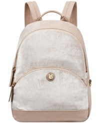 Nine West Taren Velvet Backpack Cashmere
