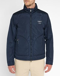 Hackett Navy Aston Martin Windbreaker Blue