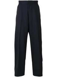 E. Tautz Terry Trousers Blue