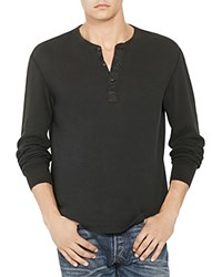 Polo Ralph Lauren Military Thermal Henley 100 Bloomingdale's Exclusive Polo Black