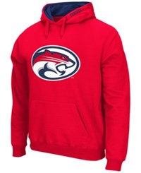 Colosseum Men's Houston Cougars Big Logo Hoodie Red