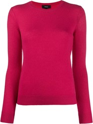 Theory Slim Fit Crewneck Jumper 60