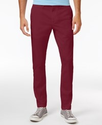 American Rag Men's Stretch Chino Pants Only At Macy's Dull Gold