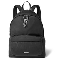 Givenchy Key Detailed Canvas Backpack Black