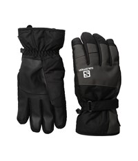 Salomon Force Gtx M Black Galet Grey Gore Tex Gloves