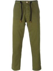 Bleu De Paname Drawstring Trousers Green