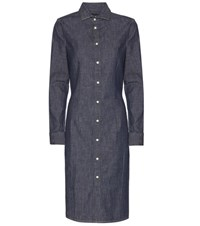 Polo Ralph Lauren Denim Shirt Dress Blue
