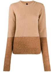 Unravel Project Two Tone Knit Jumper 60
