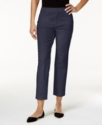 Charter Club Petite Cropped Pants Only At Macy's Intrepid Blue